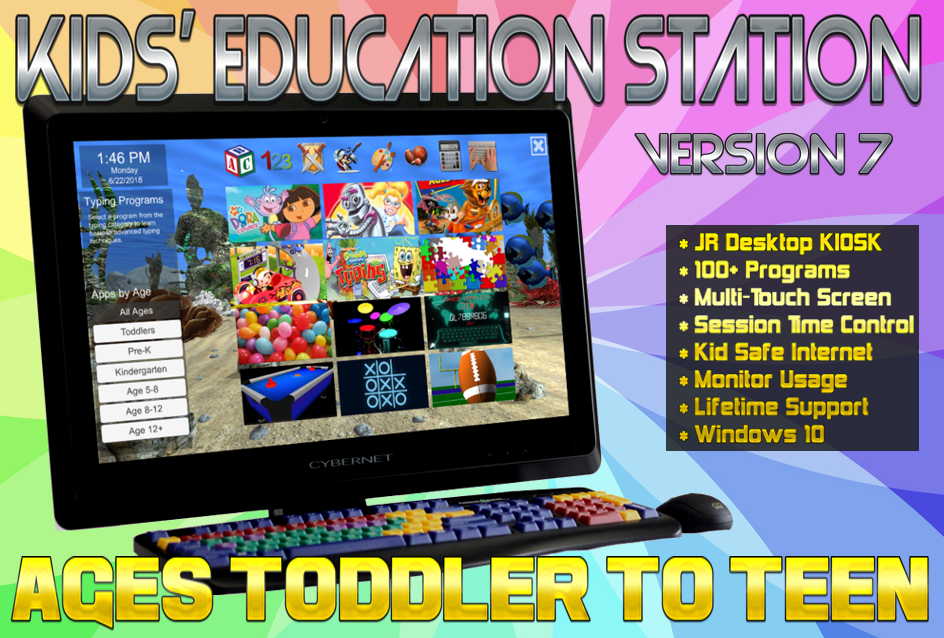 Kid Computers - Kids' Education Station v7 2020
