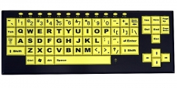VisionBoard 2 Keyboard (yellow keys)