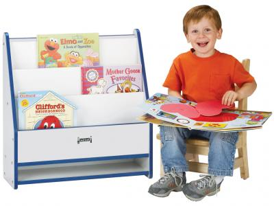 Toddler Pick-a-book Stand - Rainbow Accents - 1 Sided