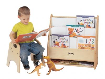 Toddler Pick-a-book Stand - 1 Sided