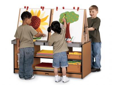 Kids 4 Station Art Center - Sproutz (Red)
