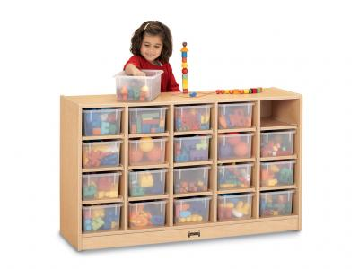 20 Tray Mobile Cubbie Without Trays - MapleWave