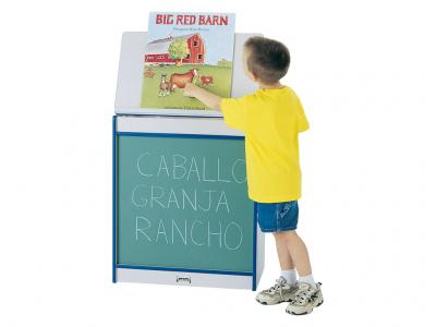 Big Book Easel - Rainbow Accents - Chalkboard (Yellow)