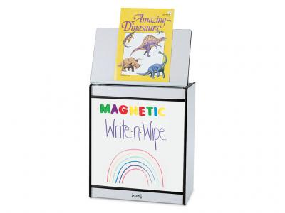 Big Book Easel - Rainbow Accents - Magnetic Write-n-wipe