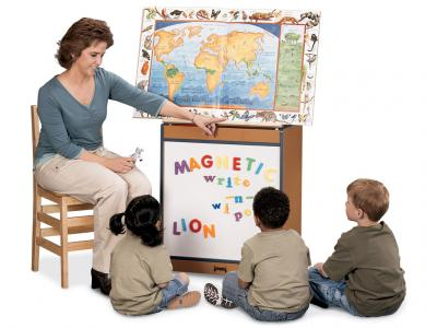 Big Book Easel - Sproutz - Magnetic Write-n-wipe