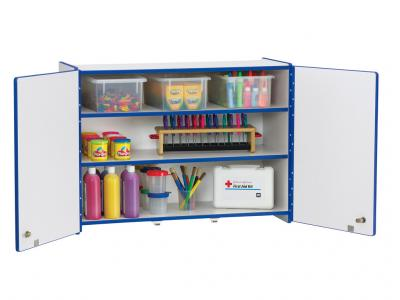 Wall Cabinet - Rainbow Accents - Lockable