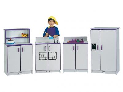 Kids Kitchen Stove - Rainbow Accents