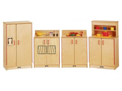 Kids The Natural Birch Kitchen - 4 Piece Set