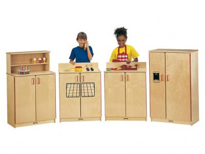 Kids School Age Kitchen Set - 4 Piece Set