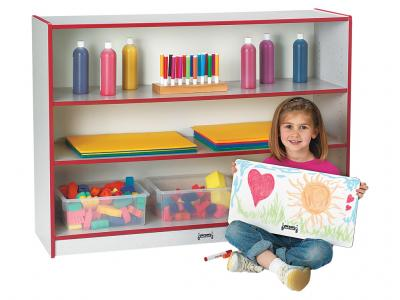 Super-sized Adjustable Bookcase - Rainbow Accents