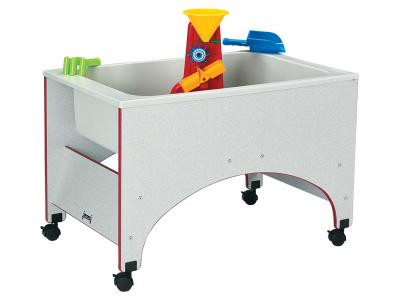 Space Saver Sensory Table - Rainbow Accents
