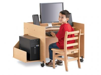 Kids Kydz Computer Desk - MapleWave - Single