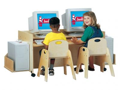 Kids Kydz Computer Desk - Double