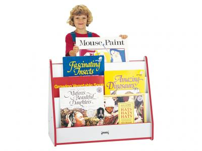 Big Book Mobile Pick-a-book Stand - Rainbow Accents - 1 Sided
