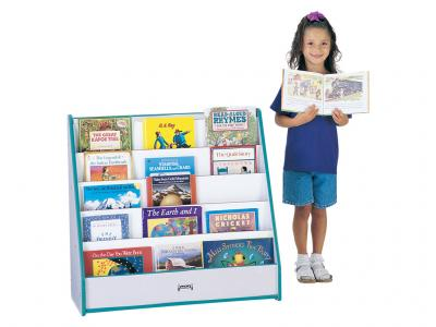 Flushback Pick-a-book Stand - Rainbow Accents - 1 Sided