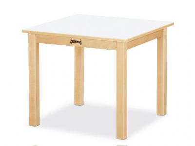 "Multi-purpose Square Table - 16"" High (White)"