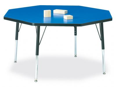 "Kydz Activity Table - Ridgeline - Octagon - 48"" X 48"", 24"" - 31"" Ht"