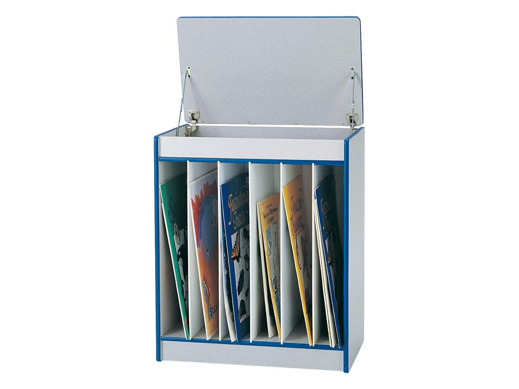 Big Book Easel - Rainbow Accents - Magnetic Write-n-wipe (Teal)