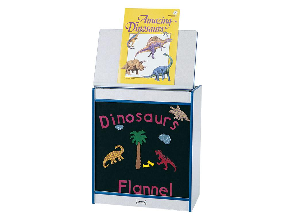 Big Book Easel - Rainbow Accents - Flannel