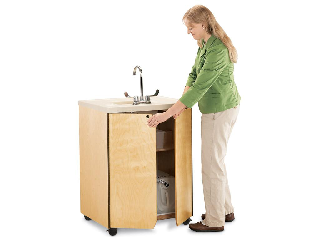 Clean Hands Helper W/stainless Steel Sink - MapleWave - 24