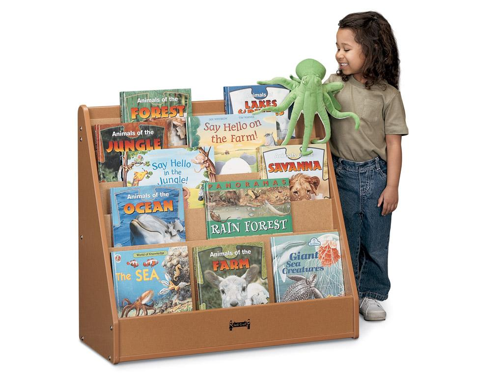Flushback Pick-a-book Stand - Sproutz - 1 Sided (Black)