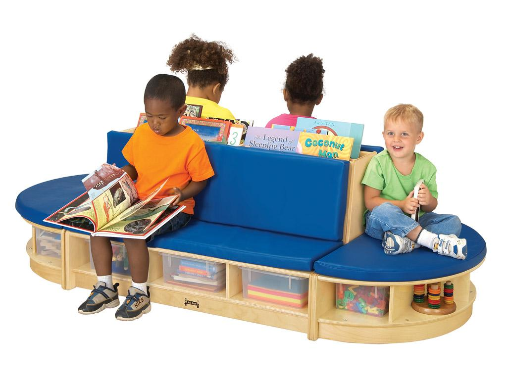 Kids Read-a-round - 3 Piece Set (Blue)