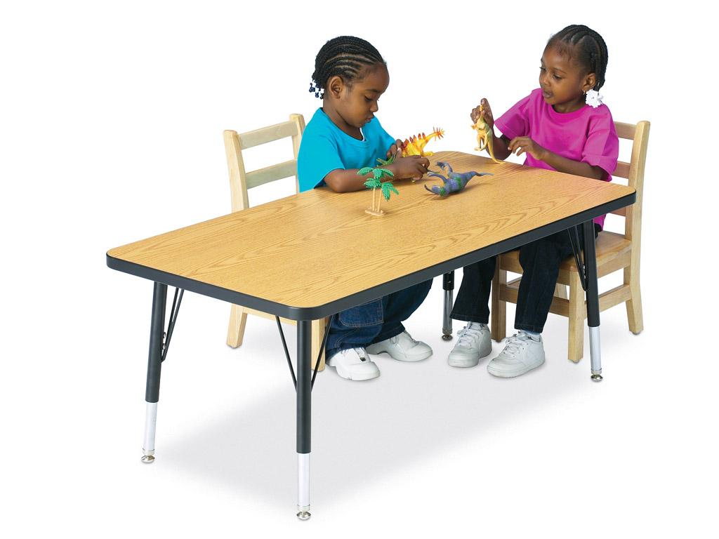 Kydz Activity Table - Ridgeline - Rectangle - 24