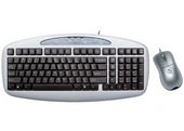 My Kids Mini Size Keyboard & Optical Mouse (silver / black)