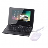 Atoah 7-Inch Mini Netbook (Black)