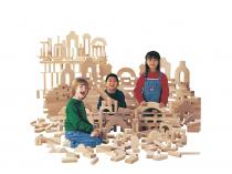 Unit Blocks - Individual Set / 45 pieces, 14 shapes