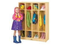 Coat Locker - 4 Sections