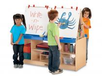 Kids 4 Station Easel - MapleWave