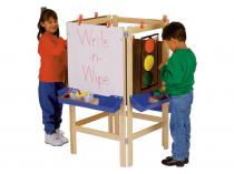 Kids 4 Way Adjustable Easel