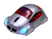 M-Coupe Silver Optical Mouse