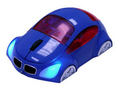 M-Coupe Blue Optical Mouse