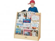 Flushback Pick-a-book Stand - 1 Sided
