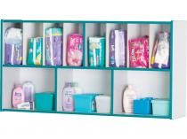 Diaper Organizer - Rainbow Accents