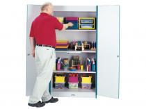 Classroom Closet - Rainbow Accents - Deluxe